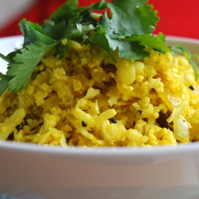 Cauliflower Pilau 'Rice'