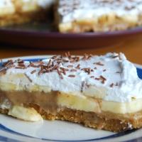 Banoffee Pie - Vegan and Gluten Free - Vegan MoFo 2014