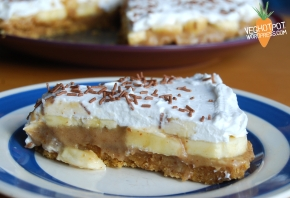 Banoffee Pie – Vegan and Gluten Free – Vegan MoFo 2014
