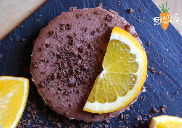 Chocolate cheesecake2