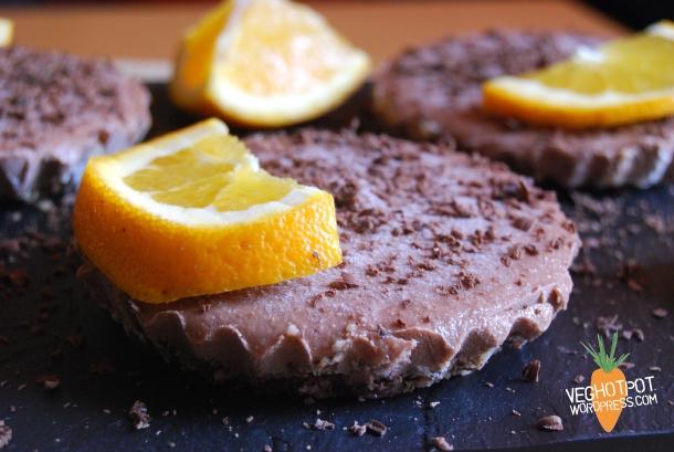 Chocolate cheesecake4