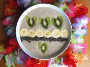 Pina Colada Smoothie Bowl – Vegan MoFo 2014