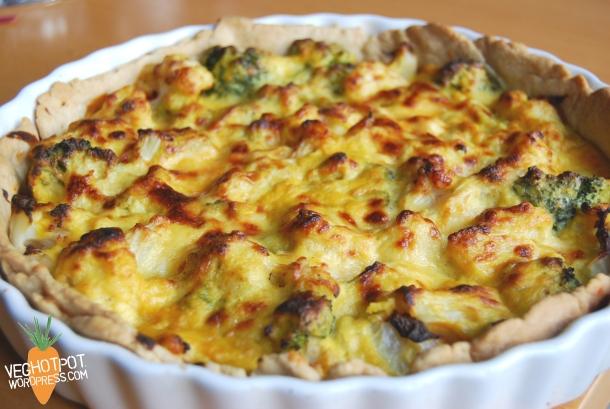 Cauliflower Cheese Pie