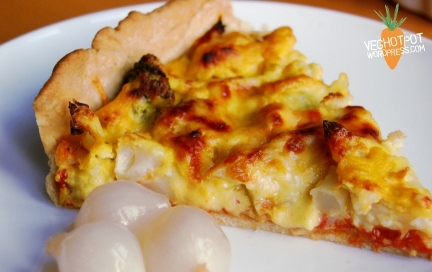 Cauliflower Cheese Pie3